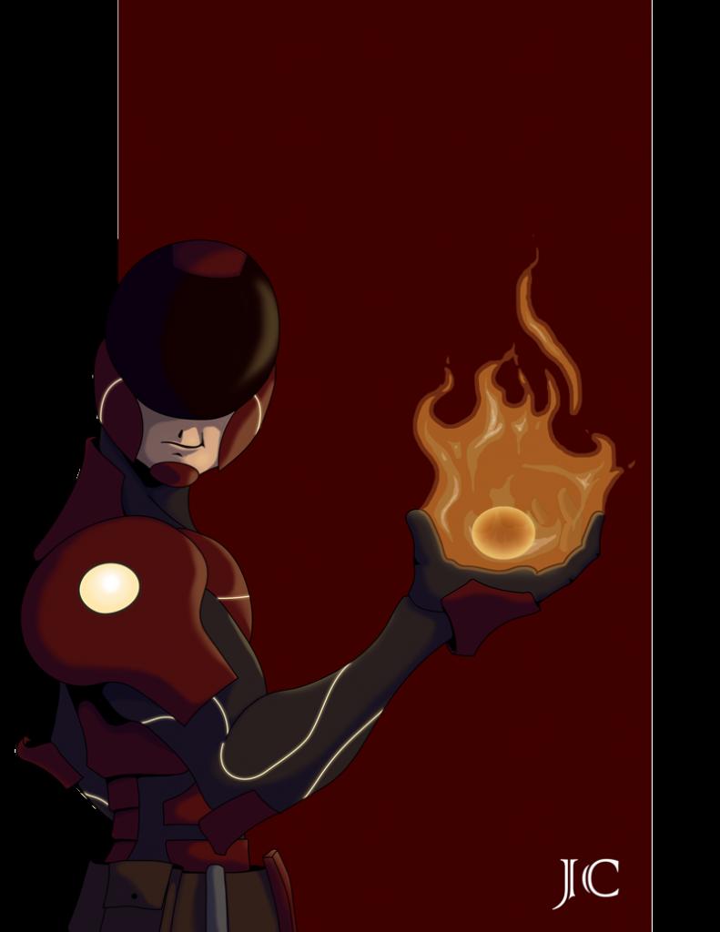 Scifi Pyrokineticist