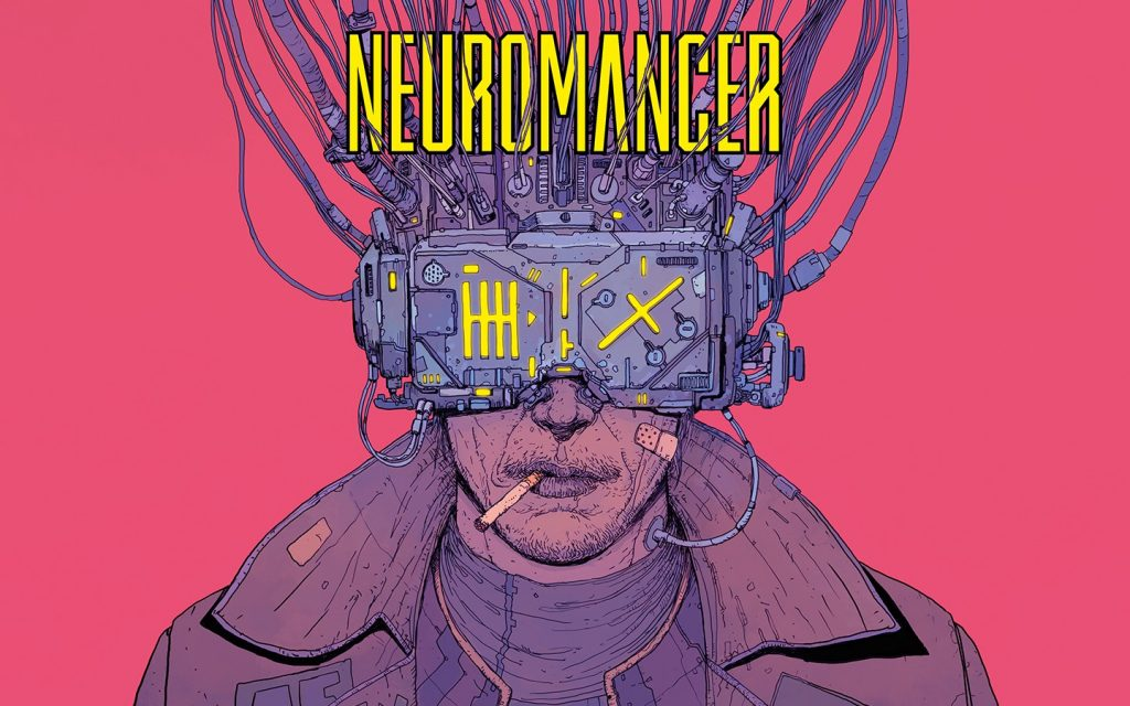 Cover of Neuromancer, by William Gibson