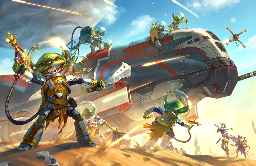 Space Goblins! You just know this is going to be ridiculous.