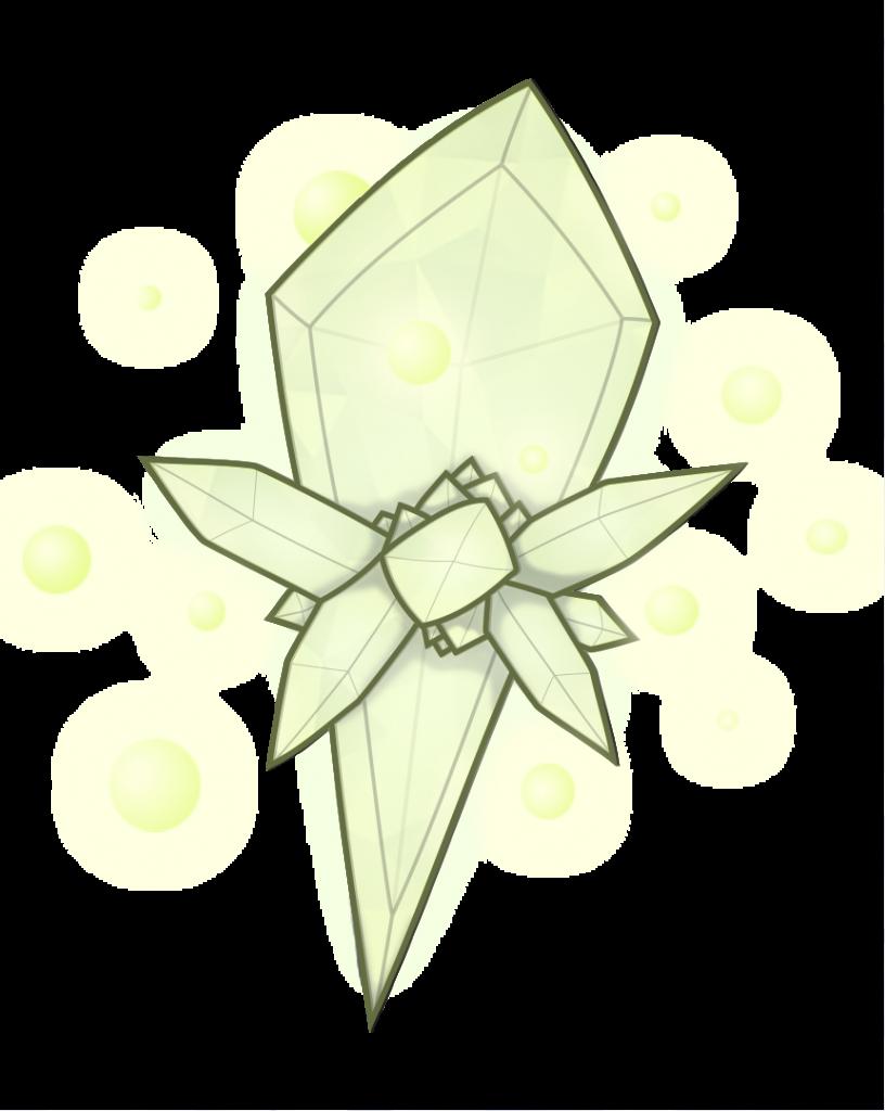 Crystal monster piece I did for Wayfinder #21