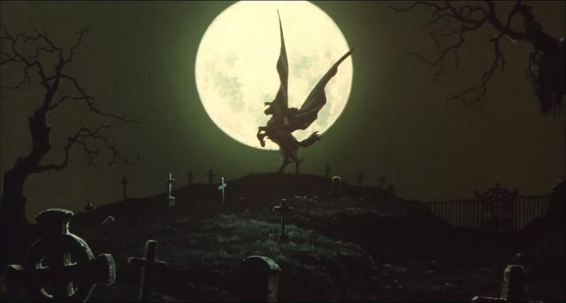 Still from Vampire Hunter D: Bloodlust