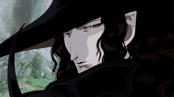 Still from Vampire Hunter D: Bloodlust showing D