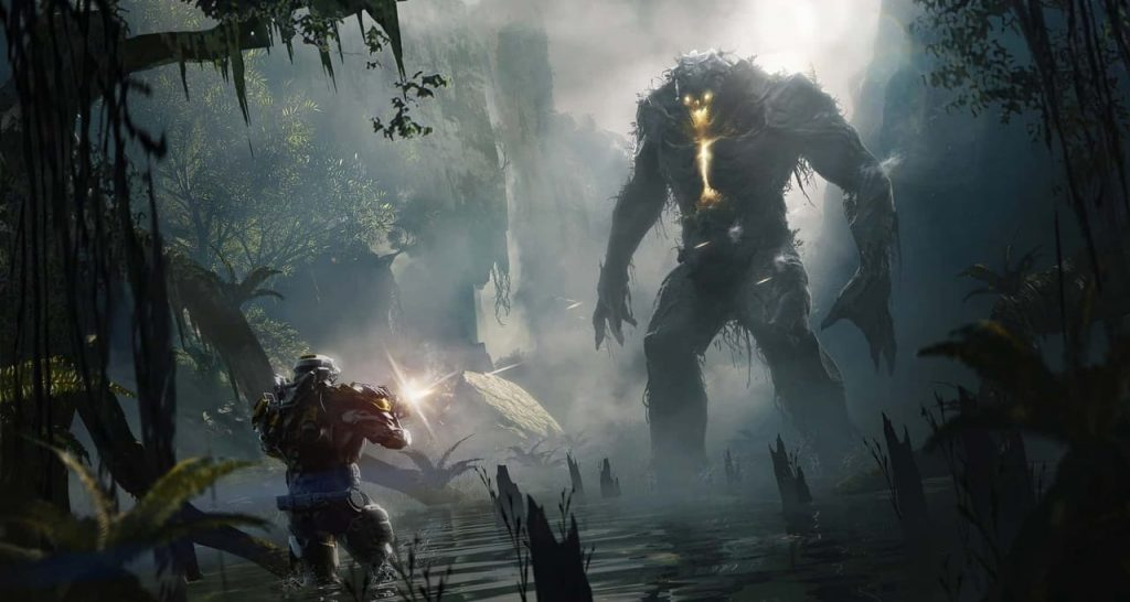 Concept art from Anthem