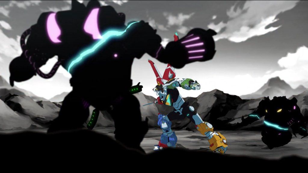 Voltron vs RoBeasts (from Voltron: Legendary Defender)
